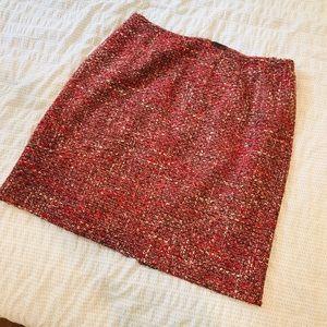 Talbot's Petites Plus Size Wool Skirt